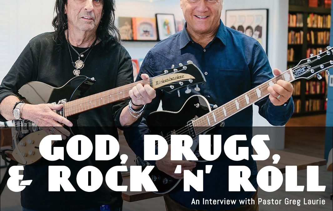 God, Drugs, and Rock and Roll: Greg Laurie has a chat with Alice Cooper (8.17.2019)