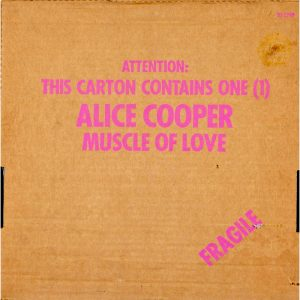 crazy little child Muscle of Love Album Cover
